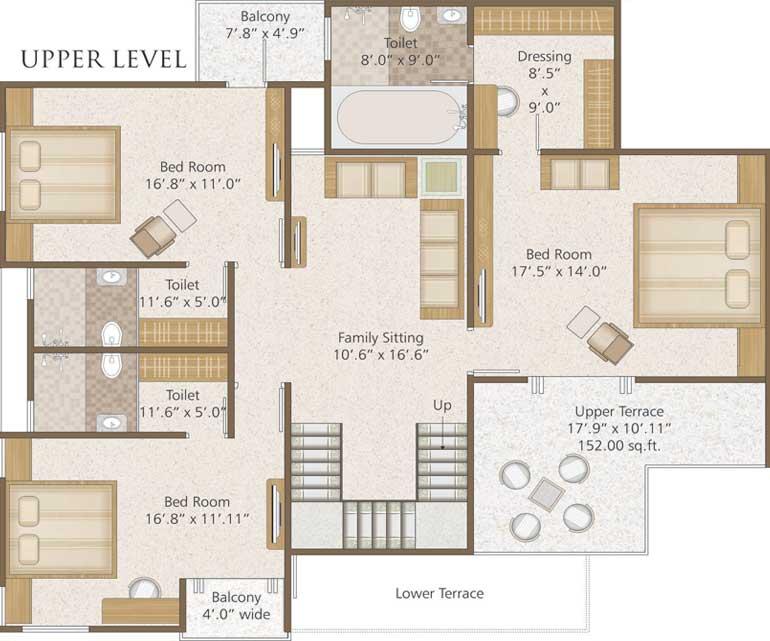 6 Bhk Luxurious Duplex Pent House 6 Bhk Duplex Pent House